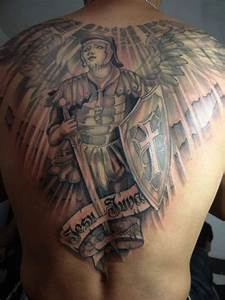 60+ Best Angel Tattoos On Back