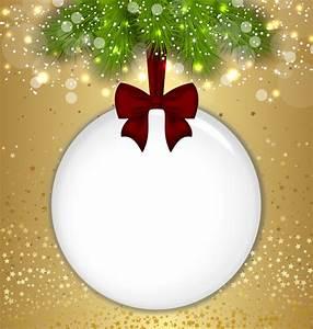 Christmas Ball Transparent PNG Gold Frame   Christmas ...