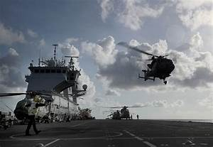 HMS Ocean arrives in Caribbean to boost UK disaster relief ...