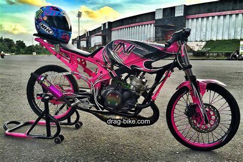 Gambar Modifikasi Motor R by 50 Foto Gambar Modifikasi R Drag Bike Racing Drag