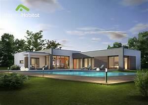 Maison Sans Toit : la maison toit plat derni re n e de notre gamme cette ~ Farleysfitness.com Idées de Décoration