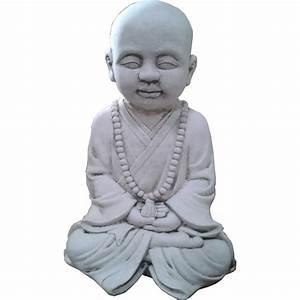 Statue Bouddha Interieur : statue enfant bouddha le bon vivre ~ Teatrodelosmanantiales.com Idées de Décoration