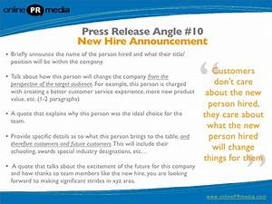 Press release writing 10 powerful press release headline for Ceo press release template