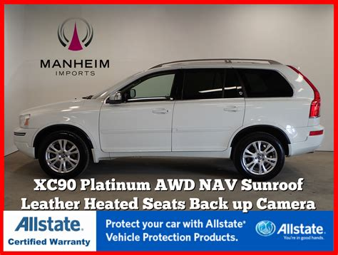 pre owned  volvo xc platinum sport utility