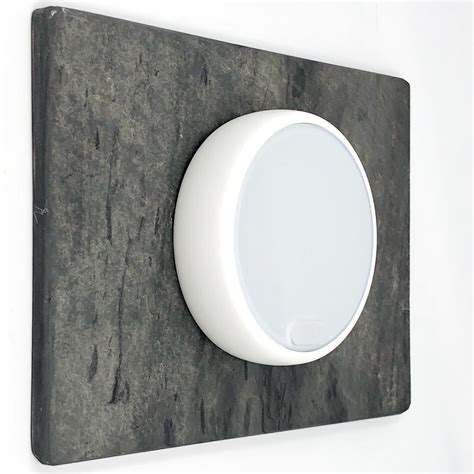 A thermostat is a thermal sensing switch. #nestthermostat #slate #smarthome #interiordesignideas ...