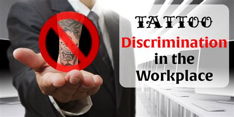 tattoo discrimination   workplace  tattoo