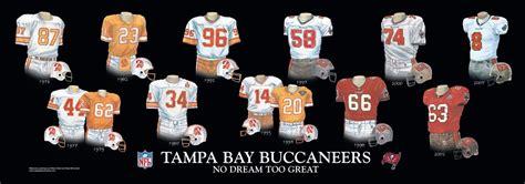 tampa bay buccaneers uniform  team history heritage