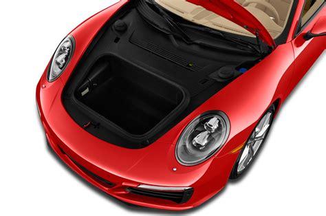 porsche trunk 2017 porsche 911 reviews and rating motor trend