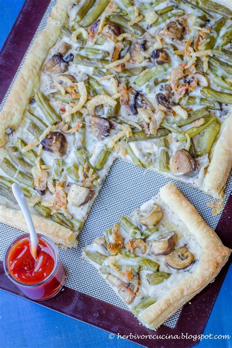 herbivore cucina green bean casserole pizza