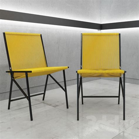 3d models chair la redoute chaise lot ii chair