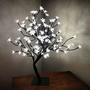 tree lamp with light up flowers lamp ideas pinterest With lamp light florist