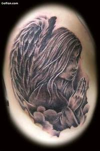 12+ Praying Angel Tattoo Designs