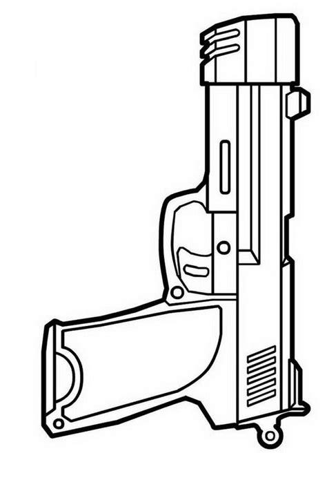 Dibujos de armas para colorear son una de las secciones más populares para los niños. COLOREA TUS DIBUJOS: Pistola para colorear y pintar