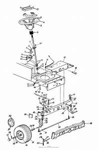 Mtd 13ai699h088  2000  Parts Diagram For Axle  Front