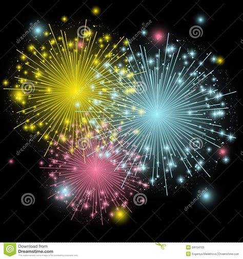 clipart fuochi d artificio fuochi d artificio brillanti di colore fotografie stock