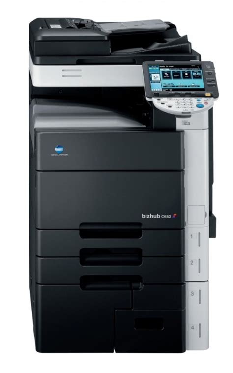 Check that konica minolta bizhub c35 ppd is selected in the printer model list. Konica Minolta Bizhub C652 Colour Copier/Printer/Scanner