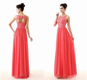 cheap coral color bridesmaid dresses 2015 new design lace With wedding dresses with coral color