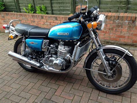 1976 Suzuki Gt750 by Restored Suzuki Gt750 1976 Photographs At Classic Bikes