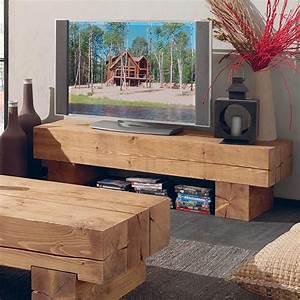 Meuble En Pin Massif Scandinave : meuble tv poutre en pin massif meuble sympa meuble tv bois meuble tv et meuble tv bois massif ~ Melissatoandfro.com Idées de Décoration