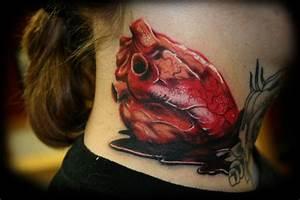 Real Heart Traditional Tattoodenenasvalencia