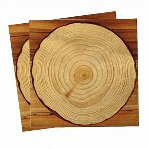 Sous Assiette Bois : 20 serviettes en papier effet bois prix minis sur ~ Teatrodelosmanantiales.com Idées de Décoration