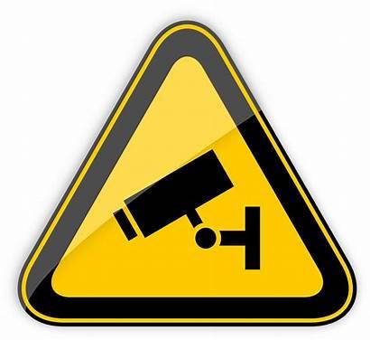 Cctv Warning Sign Clipart Operation Transparent Symbol