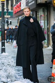 New York Fashion Week Street-Style Karlie Kloss