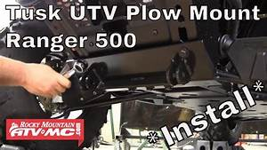 How To Install A Tusk Subzero Utv Snow Plow Mount On A