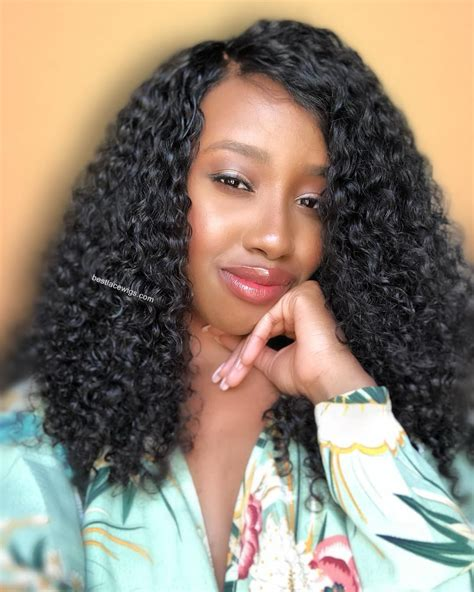 indian hair popular curly glueless lace wigs