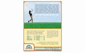 Training Course Flyer Template Golf Instructor Course Flyer Template Word Publisher