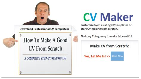 how to make a cv from scratch a complete step by step guide