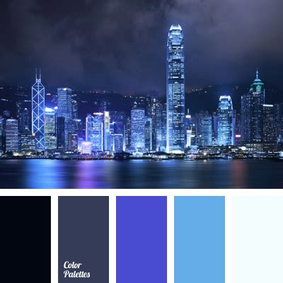 deep purple blue color color palette ideas