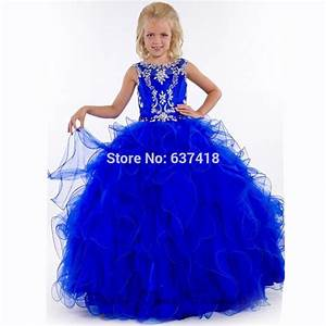 popular royal blue flower girl dresses buy cheap royal With robe ceremonie bleu roi