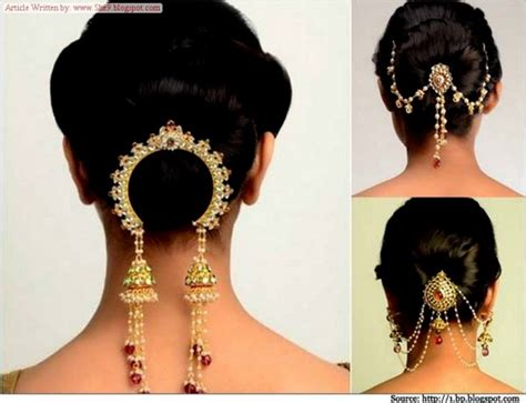 Wedding Accessories For Girls : Indian-pakistani Wedding-bridal Best Hairstyles 2015 For