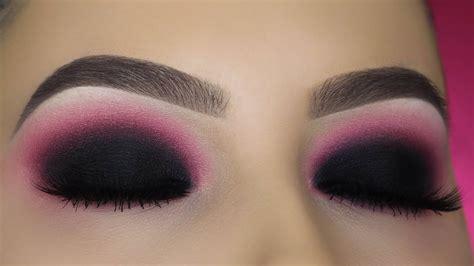 burgundy smokey eyes tutorial youtube