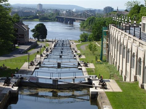 panoramio photo of locks on rideau canal canada
