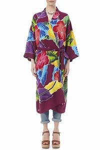 dancing gecko kimono style robe from hawaii by jasmine39s With robe style
