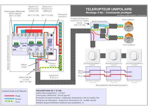 3 interrupteur pour une le chantier aux questions schemas t 233 l 233 rupteur 3 bouton pousoir ou plus