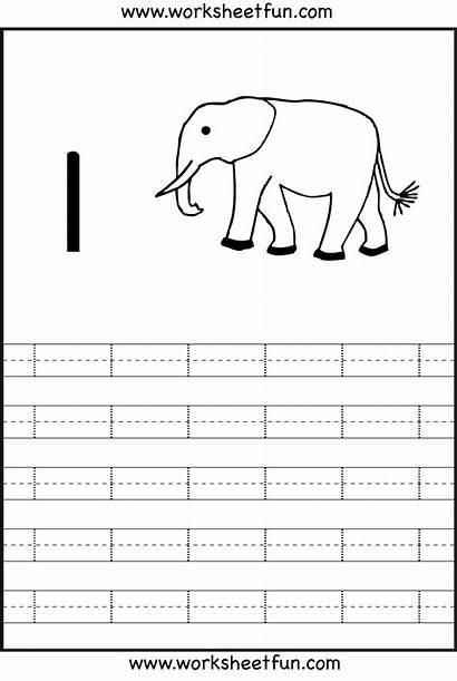 Number Preschool Printable Tracing Worksheets Worksheet Writing