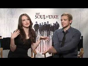 Wes Craven, Max Thieriot, Emily Meade on MY SOUL TO TAKE ...