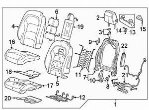 Chevrolet Camaro Power Seat Wiring Harness  Front   W  O