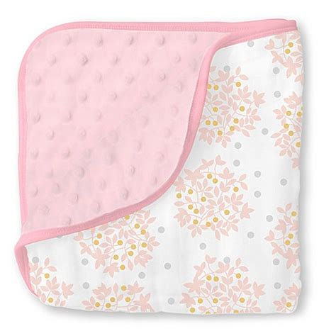 swaddle designs blanket baby blankets gt swaddle designs 174 heavenly floral shimmer