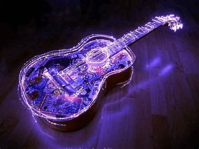 Guitar Cool Wallpapers Animated Desktop Screen Playing
