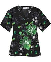 st patricks day scrub top nursing school nursing