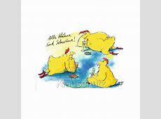 Postkarte Gaymann Alle Hähne sind Schweine