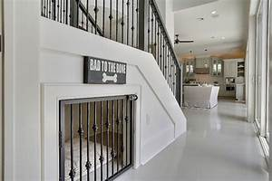 modern dog house under stair With indoor dog house with stairs