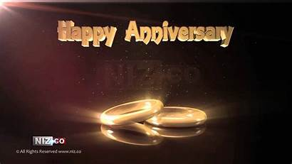 Anniversary Happy Background Royalty Rings 1080p Shining