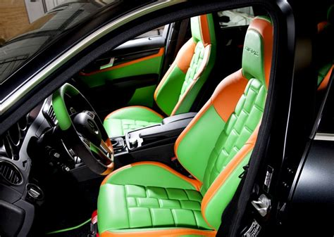 Mercedes C-class Leather Seats