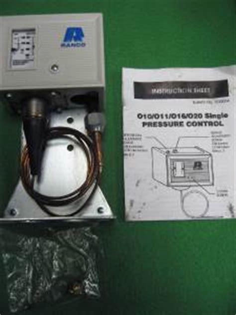 penn fan cycle control ranco 010 2054 condenser fan cycling high pressure control