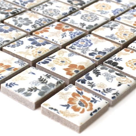 Keramik Mosaik Fliesen by Keramik Mosaik Fliesen Weiss Flower Tm33333